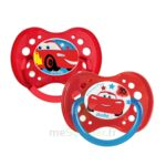 Acheter Dodie Disney sucettes silicone +18 mois cars Duo à CHAMBÉRY