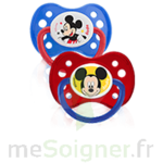 Acheter Dodie Disney Sucette anatomique silicone +6mois Mickey Lot/2 à CHAMBÉRY