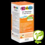 Pédiakid 22 Vitamines et Oligo-Eléments Sirop abricot orange 125ml à CHAMBÉRY